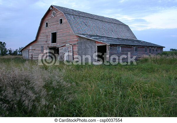 Farm Barn - csp0037554