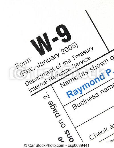IRS Form W9 - csp0039441