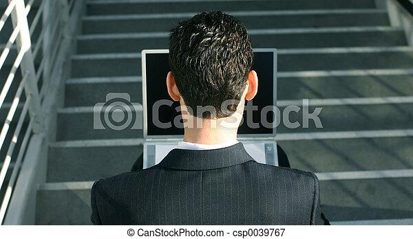 Business man - csp0039767