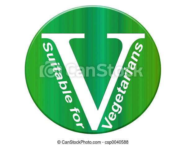Vegetarian symbol - csp0040588