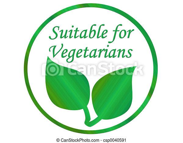 Vegetarian leaf - csp0040591