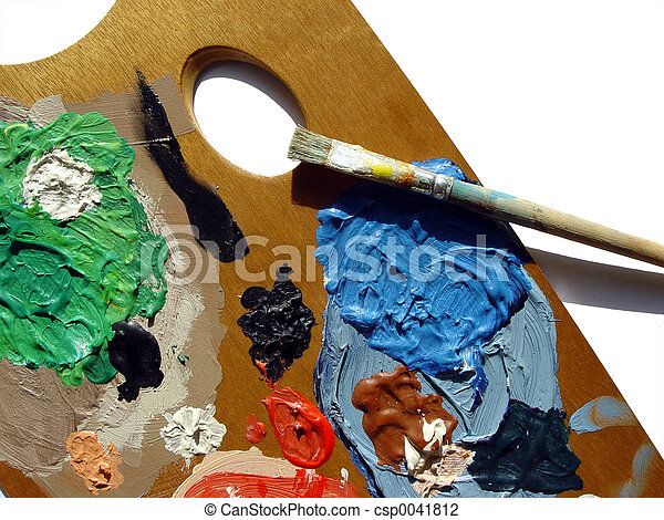 painters palette - csp0041812