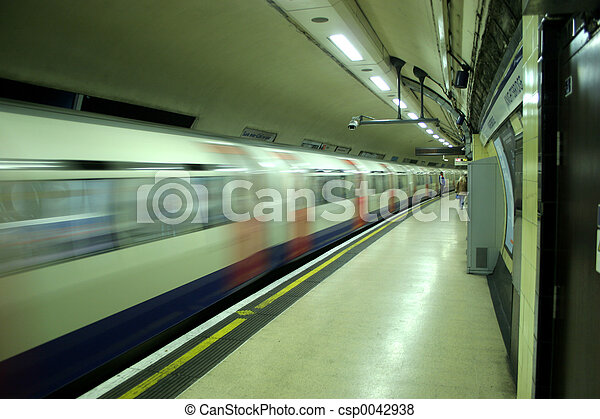 Tube Train - csp0042938