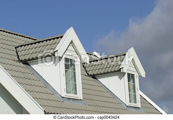 House roof - csp0043424