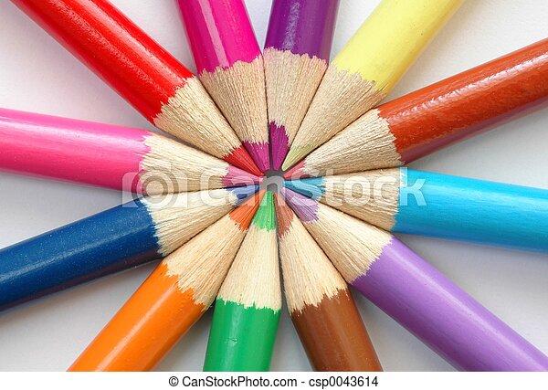 Colored Pencils - csp0043614