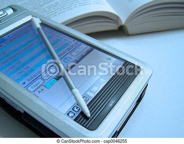 PDA & book - csp0046255