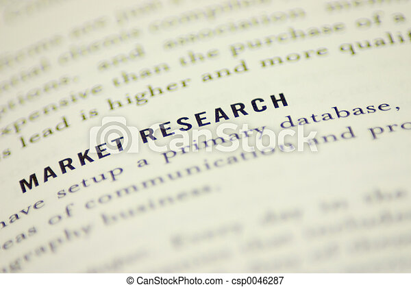 Market Research - csp0046287