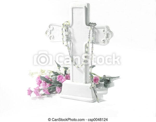 Religious-White Cross - csp0048124