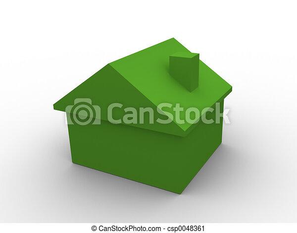 3d house - csp0048361