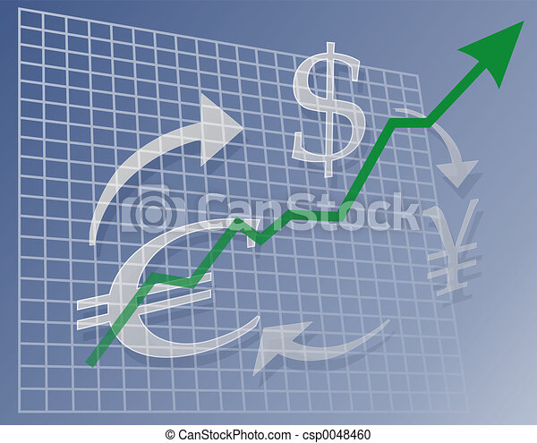 Chart Currency up - csp0048460
