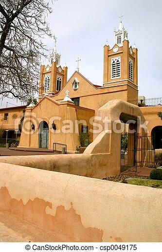 Old Town Iglesia - csp0049175