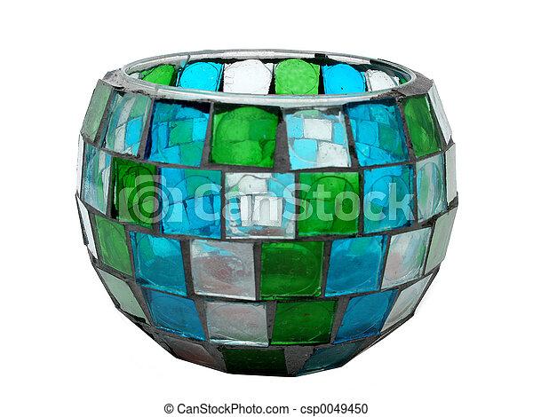 anticaglia, ciotola, mosaico - csp0049450