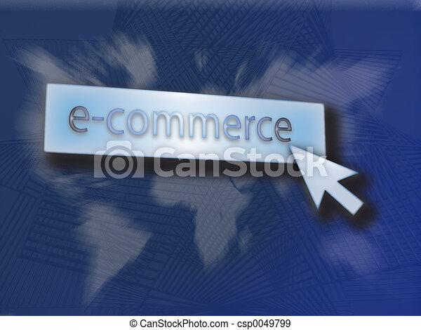 Button e-commerce - csp0049799
