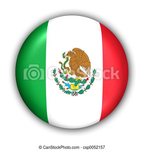 Mexico Flag - csp0052157