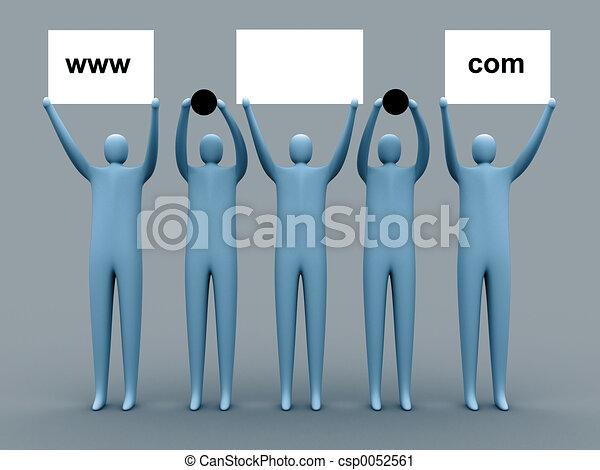 Domain advertising - csp0052561