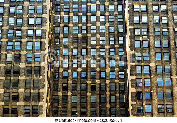 Stock photography of color windows i love the look of a Building on a lot