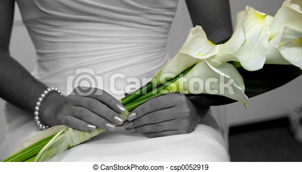 Blomstrar, bröllop - csp0052919