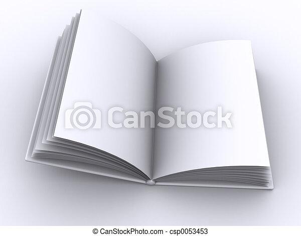 book open - csp0053453