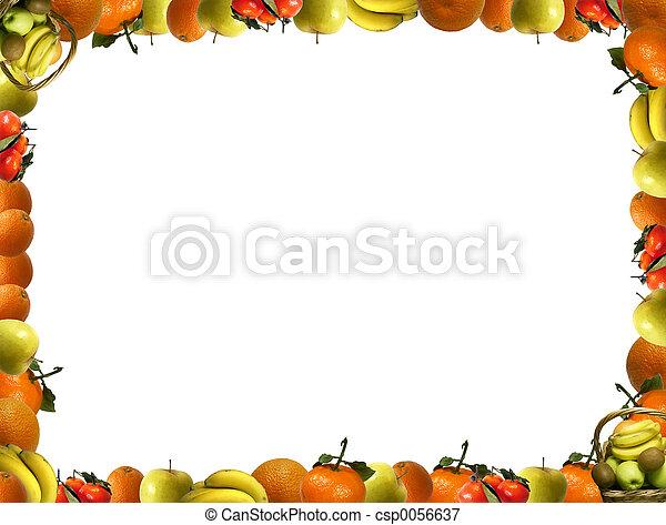 フレーム, フルーツ - csp0056637