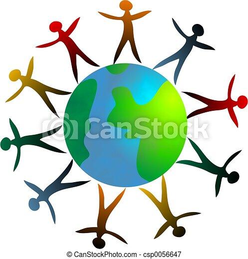 Around the World - csp0056647
