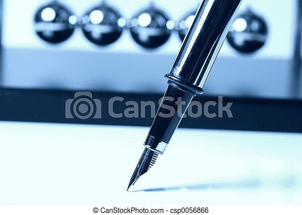 Fountain Pen in Cyan