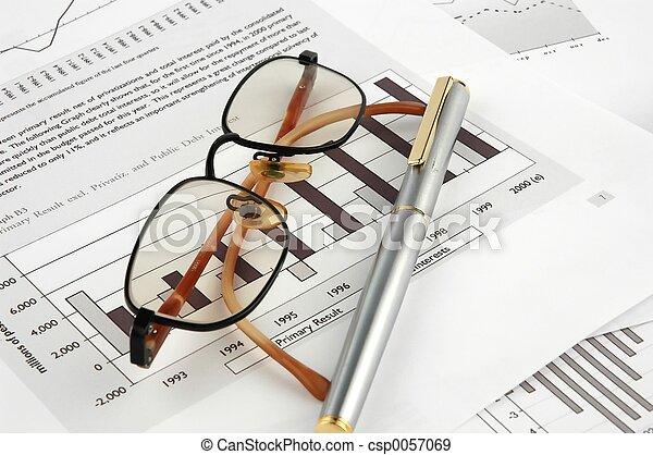 Pen and financials