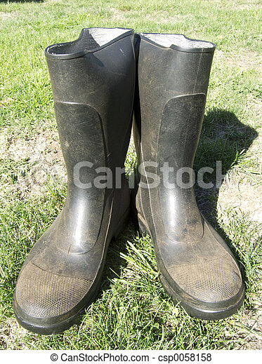 Garden boots Stock Photo Images 5684 Garden boots royalty free