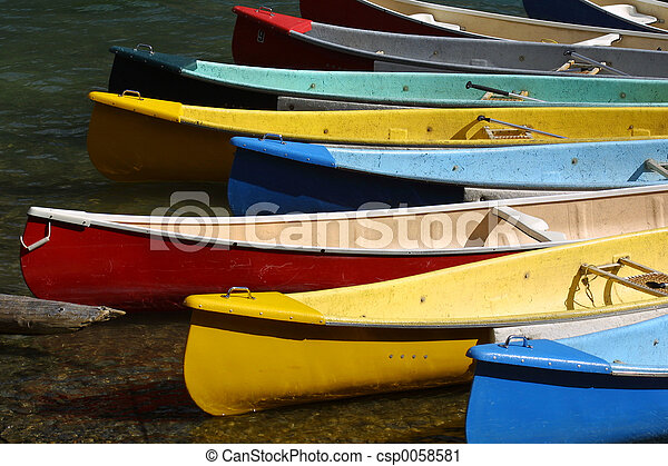 Canoes - csp0058581