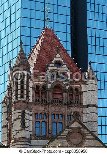 Church in Boston - csp0058950