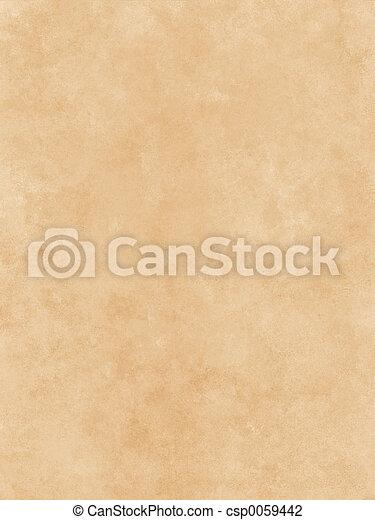 papper, Pergament - csp0059442