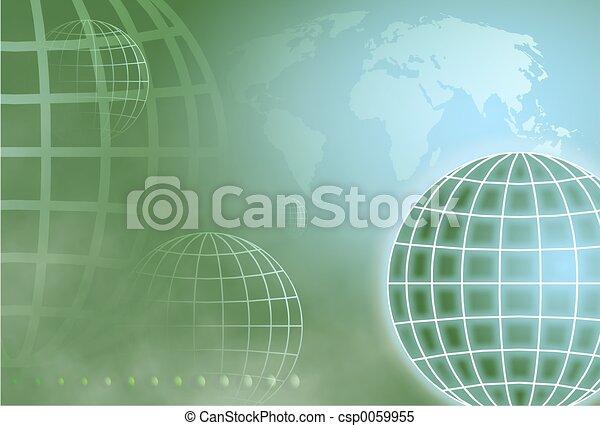 Grid Globe - csp0059955