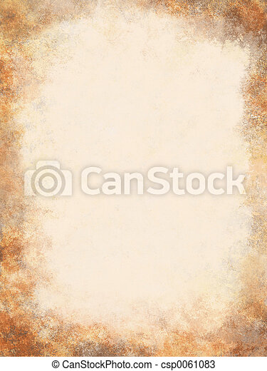 antikvitet, pergament - csp0061083