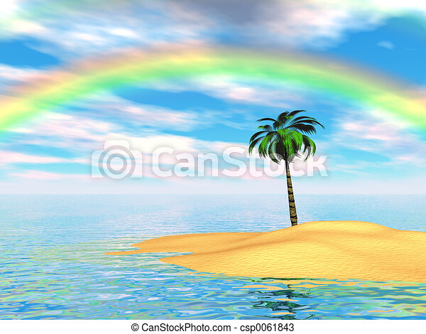 Paradise Island - csp0061843