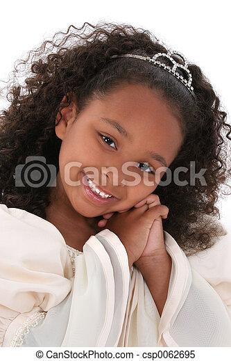 Girl Child Princess - csp0062695