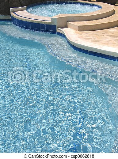 Images de piscine natation natation piscine et jacuzzi csp0062818 rec - Jacuzzi petite taille ...
