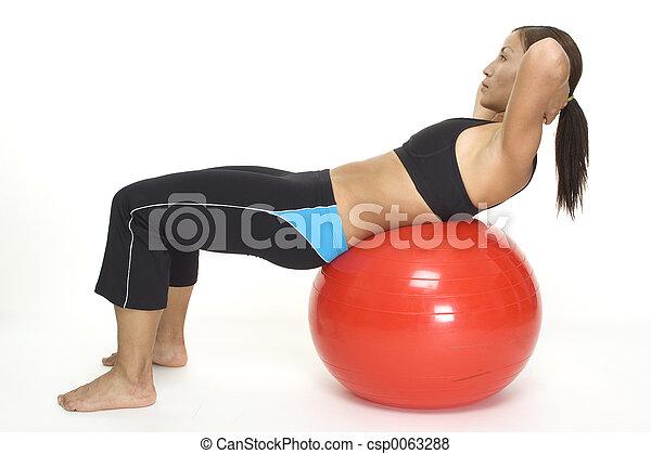 Fitball Crunch 2 - csp0063288