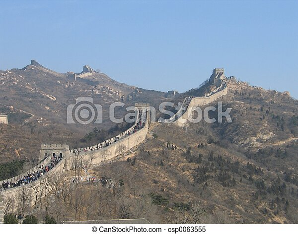 Great Wall of China - csp0063555