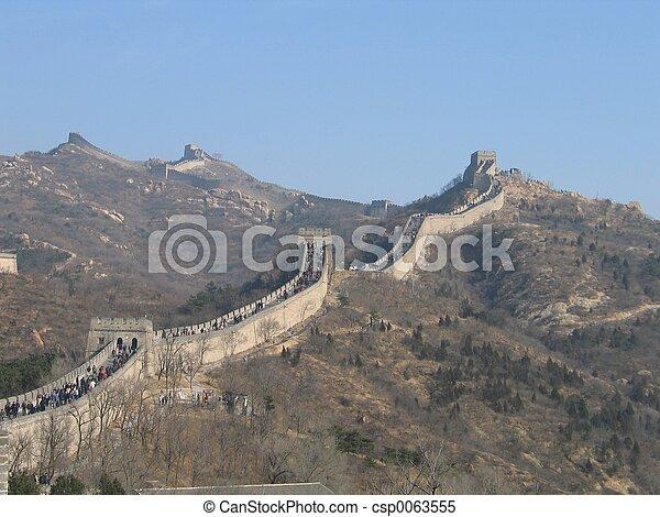 Great Wall of China - csp0063555