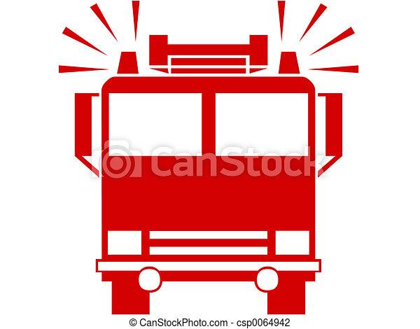 Fire engine - csp0064942