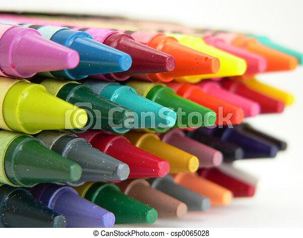 Crayons - csp0065028