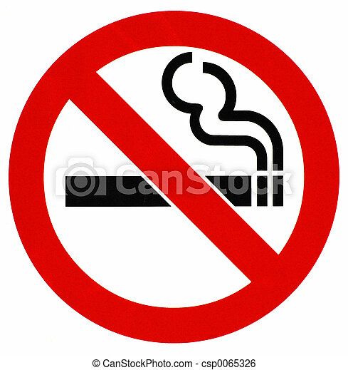 Sign No Smoking - csp0065326