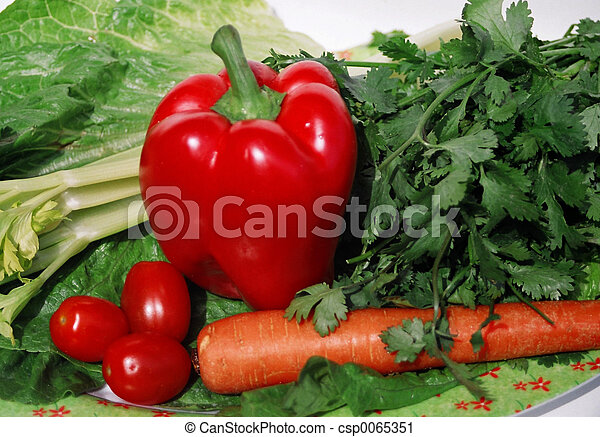 garden vegetables - csp0065351