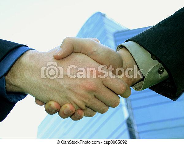 Shaking hands - csp0065692