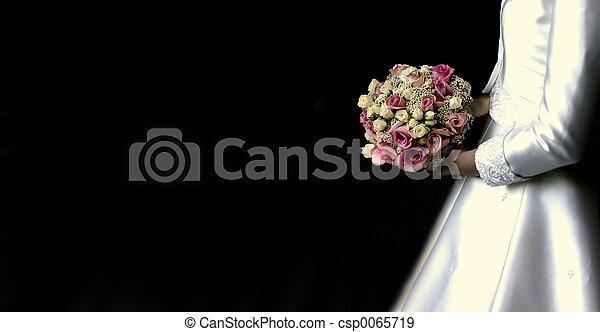bukett, bröllop - csp0065719