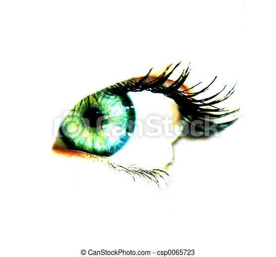 Woman's eye - csp0065723