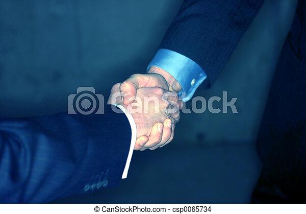 Business handshake - csp0065734
