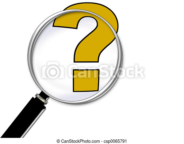 Question Mark - csp0065791
