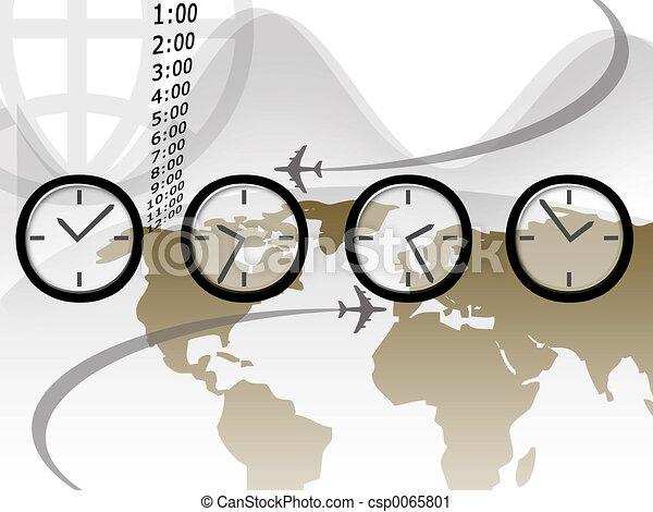 Travel Time - csp0065801