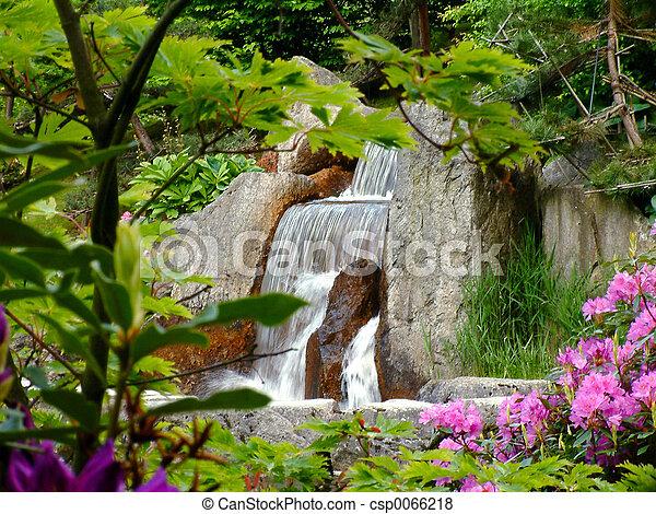 Waterfall. - csp0066218