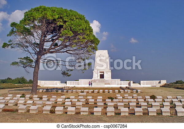 Gallipoli Memorial - csp0067284